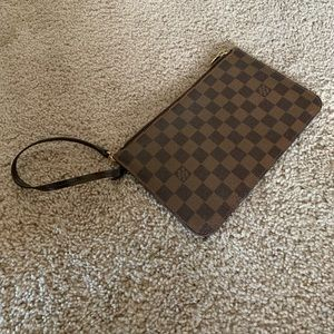 Louis Vuitton wristlet wallet